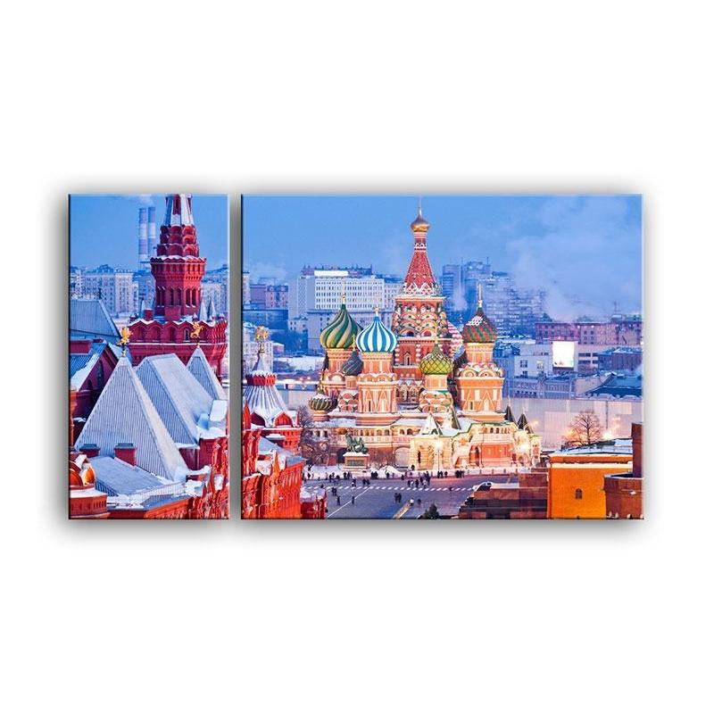 Модульная картина Россия